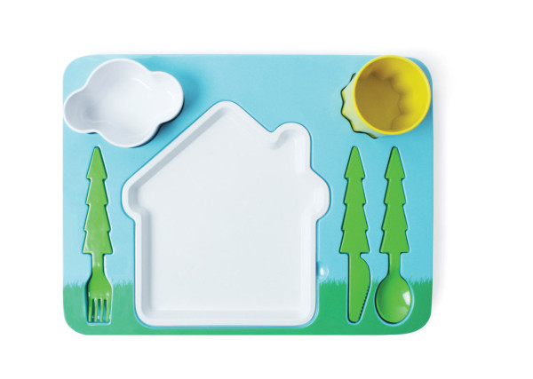 Doiy Childrens Landscape Dinner Set