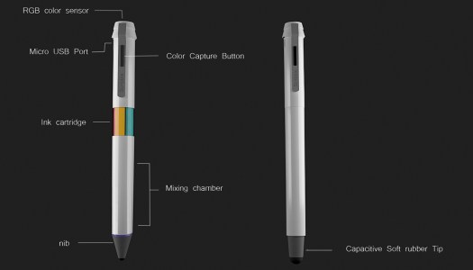 Scribble: 100,000 Ink Colors Available In One Pen in technology main Category