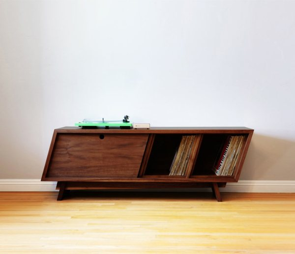 Designing and Building a Modern Record Player Console ...