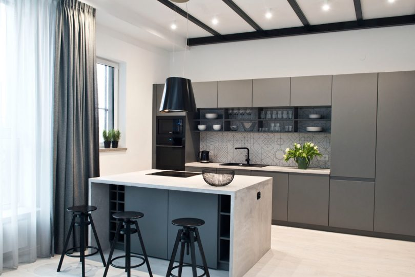 A Contemporary Family Apartment in Warsaw, Poland