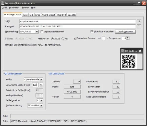 Portable QR-Code Generator | heise Download