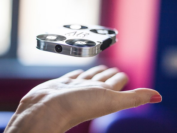 Airselfie A Pocket Sized Camera Drone Launches On Kickstarter