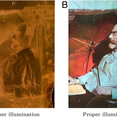 Physicists now understand the multi-spectral qualities of the world's first color photographs