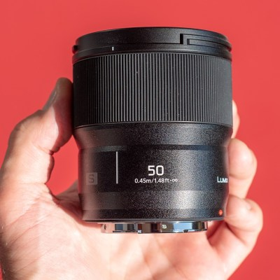 Hands-on with the new Panasonic Lumix S 50mm F1.8