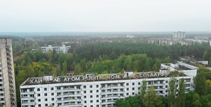Video: DJI Mavic Air 2 drone takes you on a through a tour of the Chernobyl Exclusion Zone