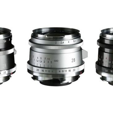 Cosina announces new 28mm F2 Ultron 'Vintage Line' lenses