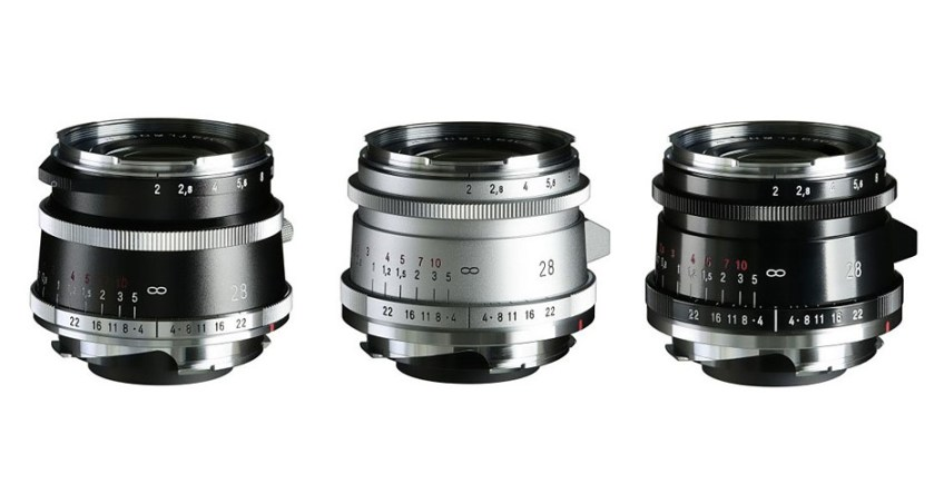 Cosina announces new 28mm F2 Ultron 'Vintage Line' lenses