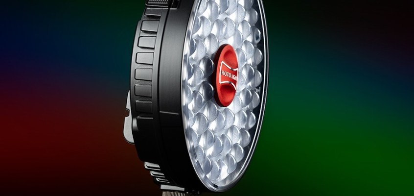Rotolight's new NEO, AEOS RBGWW flashes output 16.7 million colors