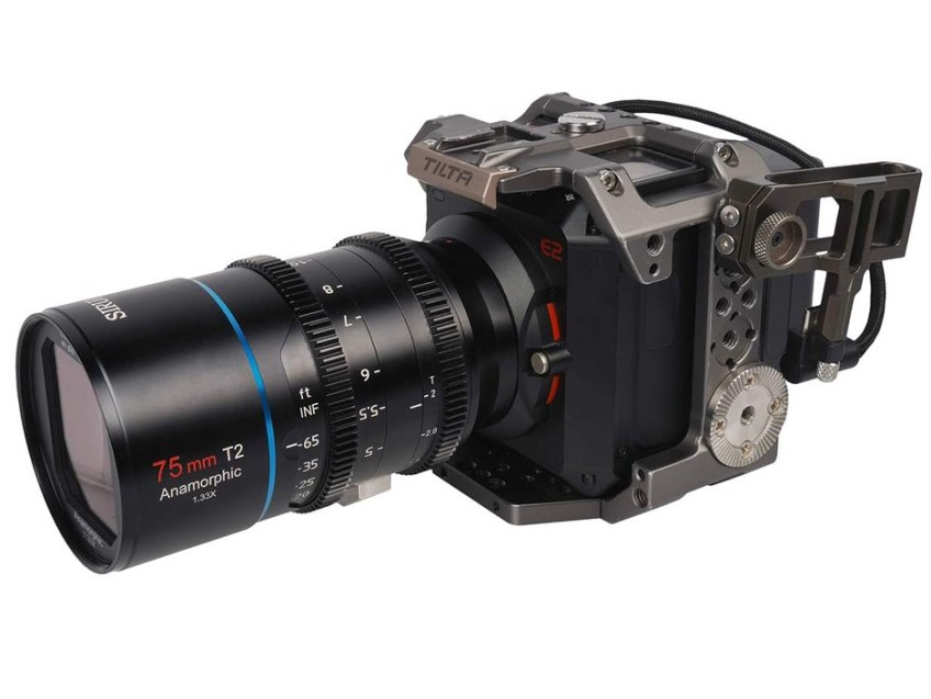Sirui rehouses its 1.33x anamorphic lenses for cinema rigs and adds T-stops
