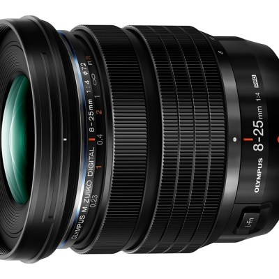 Olympus introduces M.Zuiko 8-25mm F4 Pro Micro Four Thirds lens