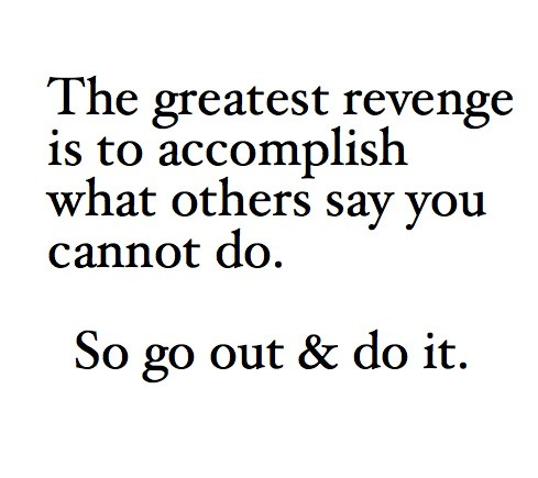 The Greatest Revenge