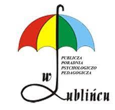 Logo publicznej poradni psychologiczno pedagogicznej w Lublińcu