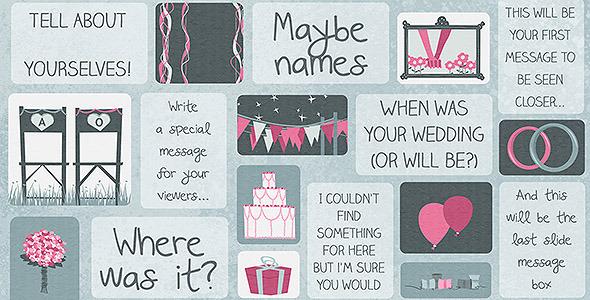 Animated Wedding Invitation Card