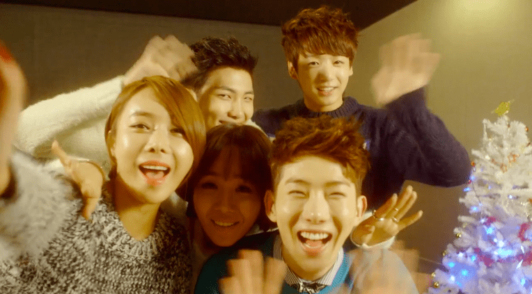 Jo Kwon Lim Jeong Hee Joo Hee Rap Monster And Jung
