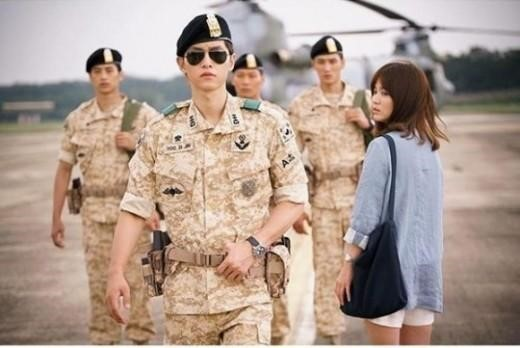 """Song Joong Ki and Song Hye Kyo Wrap Up Filming for """"Descendants of the Sun"""""""