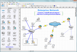 10Strike Network Diagram  Software for Creating Topology Diagrams