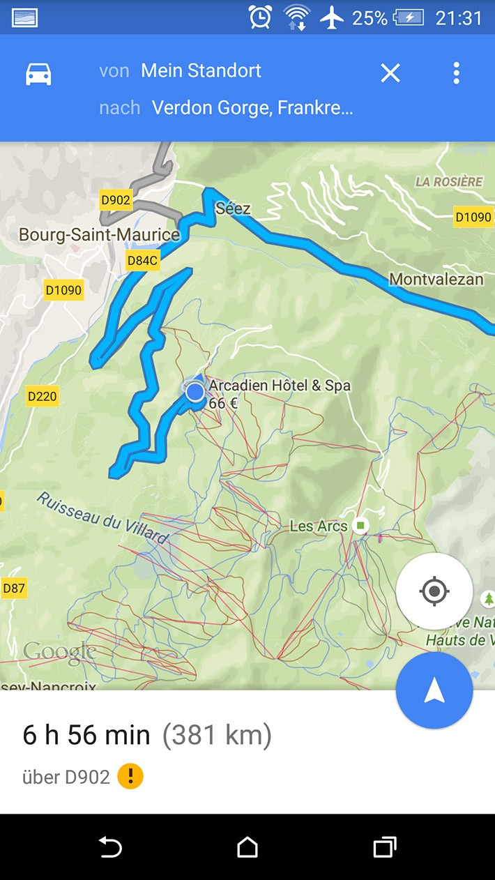 Bourg-Saint-Maurice-Gorge-Verdon-Map-02