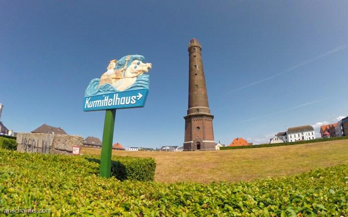 Kurmittelhaus Leuchtturm Borkum