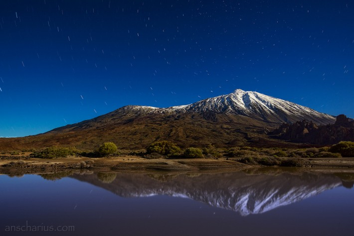 Pico-del-Teide-at-Night