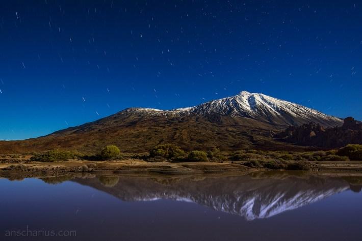 Pico-del-Teide-at-Night