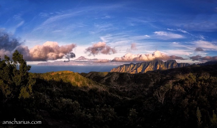Tenerife Sunset from La Gomera