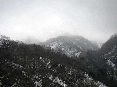 日本三百名山「大山」(北尾根経由)