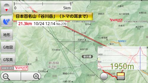 スマートフォン登山用GPS化計画(ヤマレコGPSログを地図ロイドに取り込む方法)