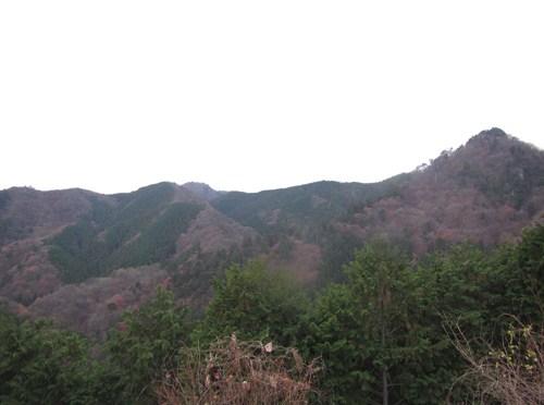 日本二百名山「大岳山」(奥多摩駅より鋸尾根経由御岳山周回)