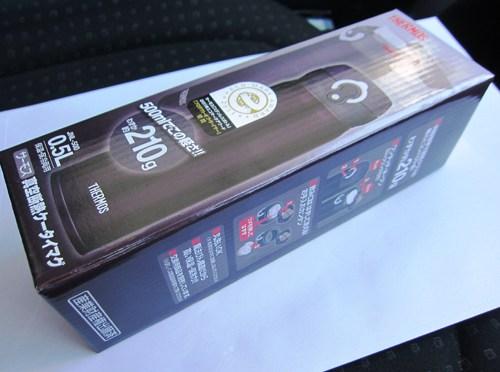 サーモス「真空断熱ケータイマグ(JNL-500)」について(登山用魔法瓶購入)