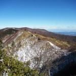 日本二百名山「和名倉山(白石山)」(民宿みはらしよりピストン)