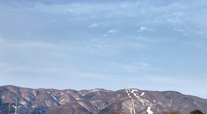 日本三百名山「入笠山」(富士見パノラマスキー場よりピストン)
