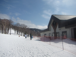 グランデコゴンドラリフト山頂駅