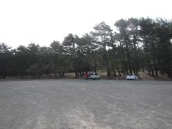 本栖湖オートキャンプ場駐車場