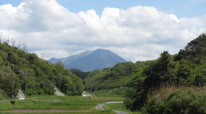日本百名山「大山」(夏山登山道より行者登山道周回)