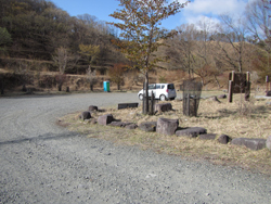 船石峠駐車場