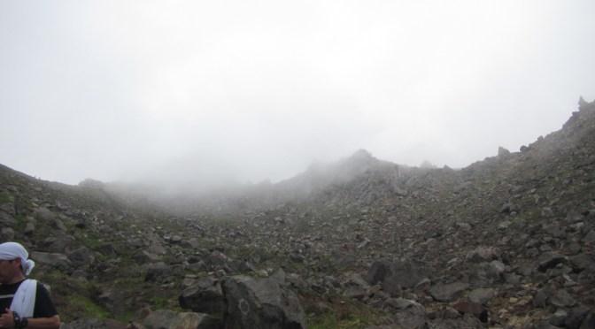 日本百名山「焼岳」(新中の湯登山口よりピストン)