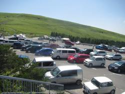 車山肩駐車場