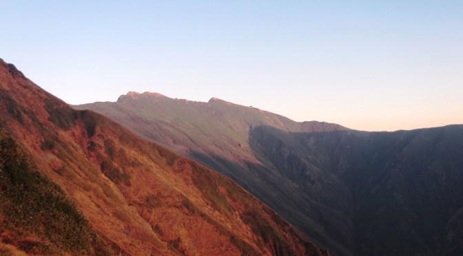 日本百名山「谷川岳」(谷川岳ロープウェイ経由天神平より土樽縦走)