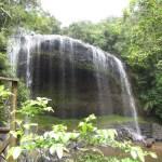 パラオ「ガラスマオの滝」(パラオエコテーマパーク)