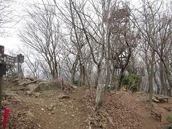 仏果山山頂