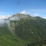 日本百名山「聖岳」(便ヶ島より聖岳、光岳周回)