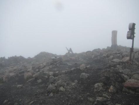 聖岳(前聖岳)山頂
