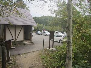 平標山登山口駐車場