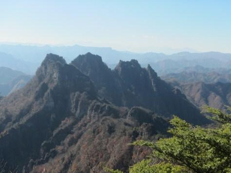 日本二百名山「妙義山」