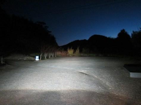 天神社駐車場