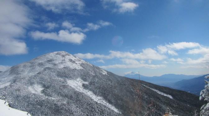 日本百名山「八ヶ岳(編笠山)」(富士見高原登山口より西岳、編笠山周回)