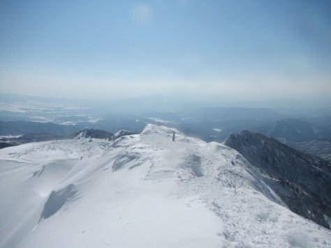 剣ヶ峰山山頂