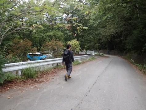 西沢登山口