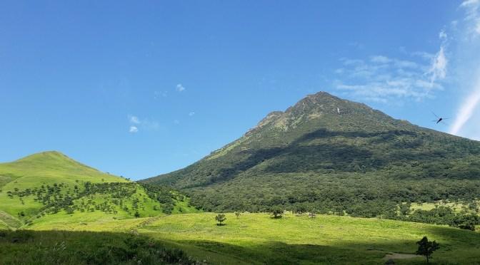 日本二百名山「由布岳」(正面登山口より西峰ピストン)