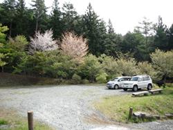 いこいの森公園駐車場